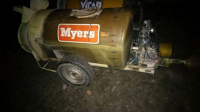 Opryskiwacz sadowniczy MYERS 600l 2 biegi/albuz/zaczep skrętny/wąski