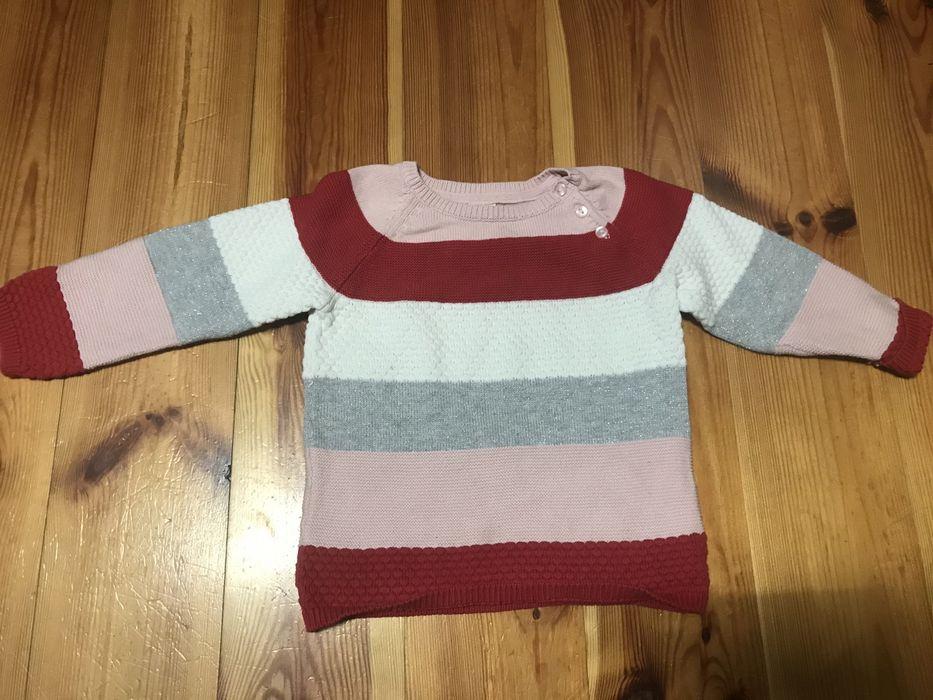Sweter H&M rozmiar 86 dla dziewczynki Herby - image 1