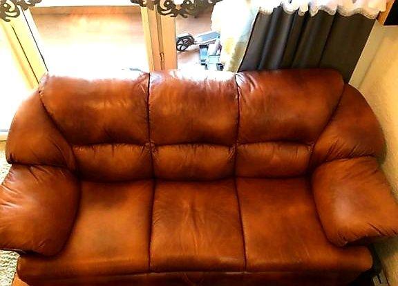 Sofa skórzana - kanapa WAJNERT
