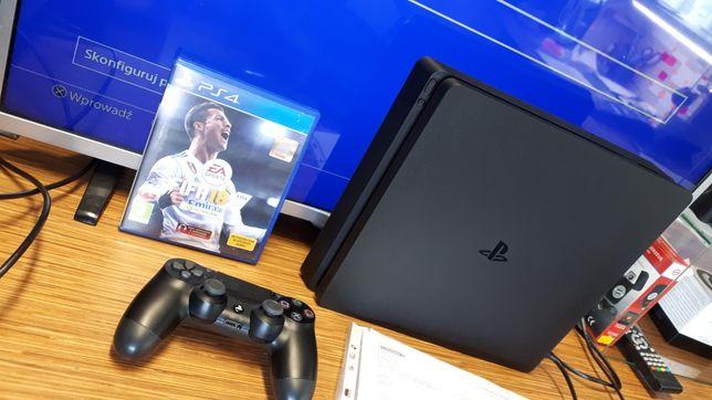 PS4 PlayStation 4 slim 500GB BDB stan STAN LOMBARD