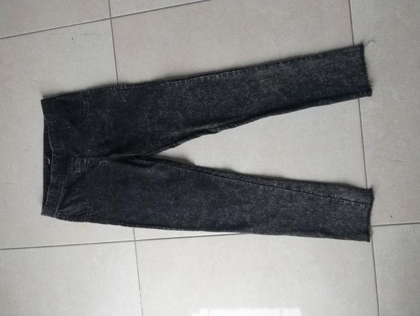 spodnie jeansy 152 /158 czarne