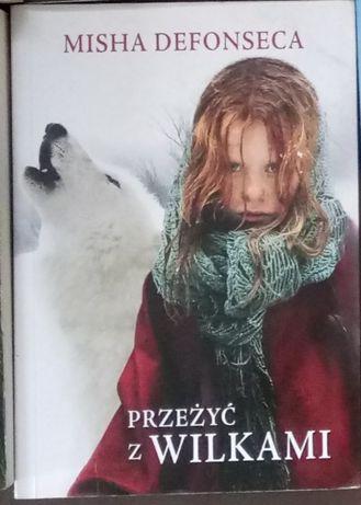 Książka Przeżyć z Wilkami