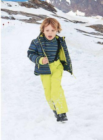Лыжный зимний комбинезон штаны 122-128 Crane