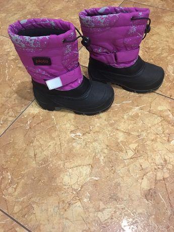 Продам зимнюю обувь для девочки