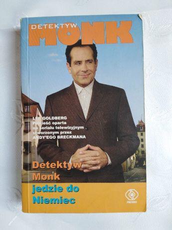 """Książka """"Detektyw Monk jedzie do Niemiec"""" Lee Goldberg"""