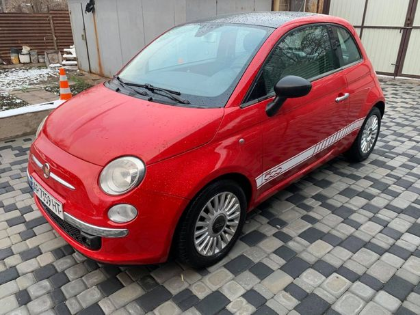 Fiat 500 2008 состояние нового
