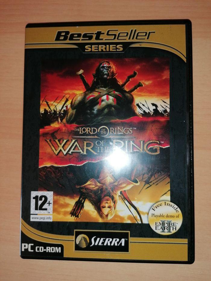 Jogo PC - LOTR - War of the Ring (Como Novo) Parque das Nações - imagem 1
