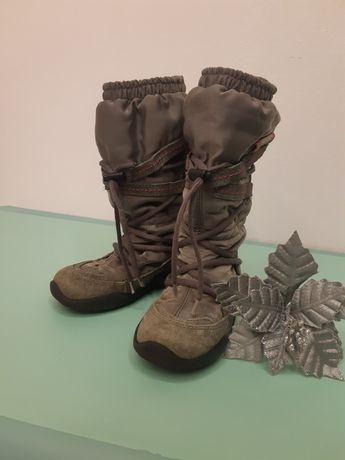 Зимові чоботи, черевики. Ecco 27 розмір