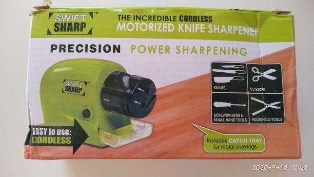 Электрическая универсальная Точилка для ножей Swifty Sharp(новое))