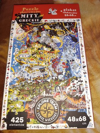 Puzzle Mity greckie +9