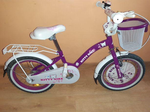 Rower dziewczęcy Koła 16 cali + Kółka boczne NOWE