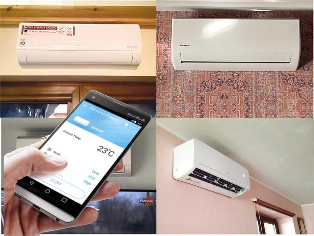 Sprzedaż, montaż i serwis klimatyzacji - Wi-Fi grzanie i chłodzenie