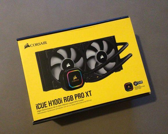 Water Cooler CPU Corsair iCUE H100i RGB Pro XT 240mm / Troco