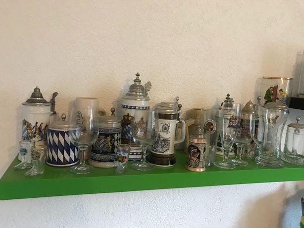 Szklanki Kufle do Piwa browar niemiecki kolekcjoner rarytasy