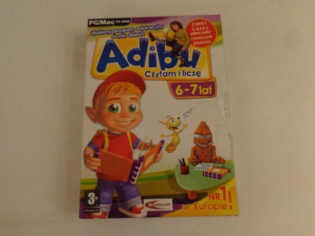 Gra ADIBU Czytam i liczę 6-7 lat