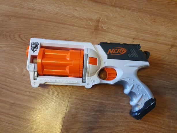 Pistolet nerf maverick rev-6