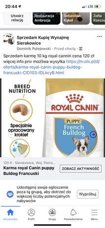 Karma royal cannin Buldog Francuski 10 kg