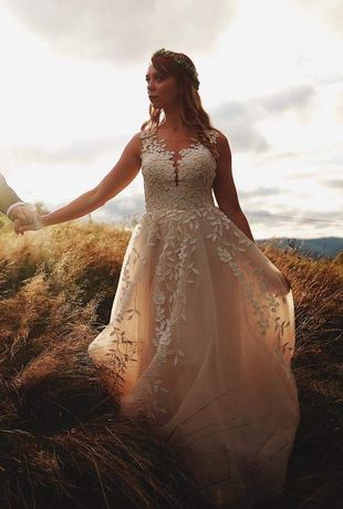 Sukienka ślubna 36