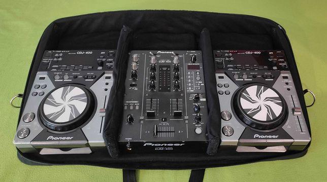 Torba Futerał Case Pioneer CDJ 200/350/400 DJM 350/400 Skup Zamiana