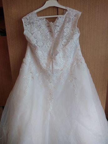Suknia ślubna r.48