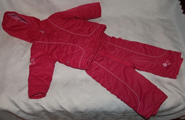 Kombinezon Tup Tup roz 86 Kurtka spodnie