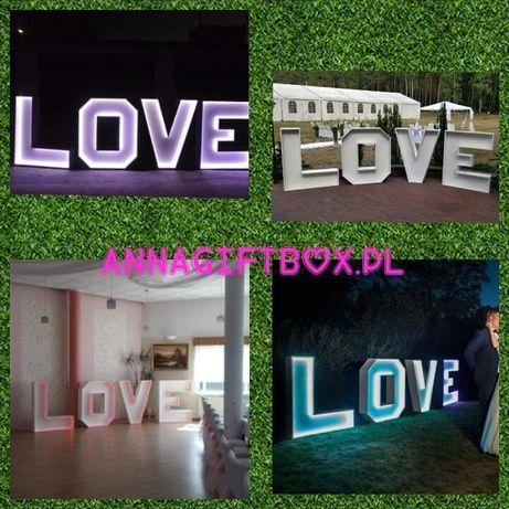 Love podświetlane
