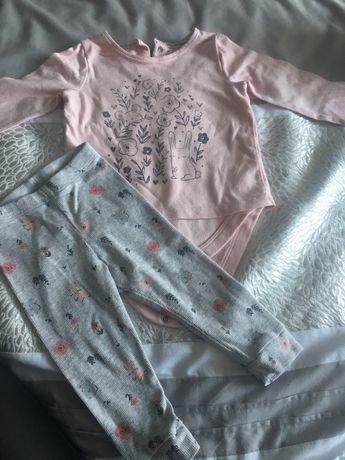 Komplet bluza i spodnie 74