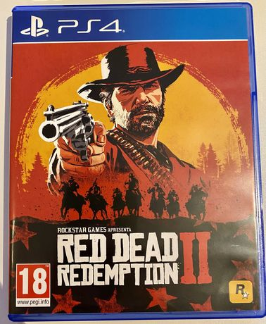 Jogo PS4 Red Dead Redemption 2