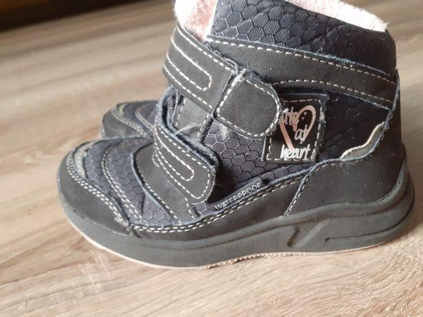 Buty zimowe waterproof 25, wkładka 16,8cm