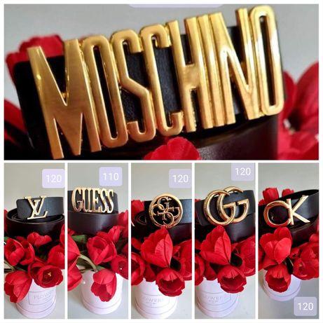 Pasek damski Calvin Klein Moschino GG Guess LV