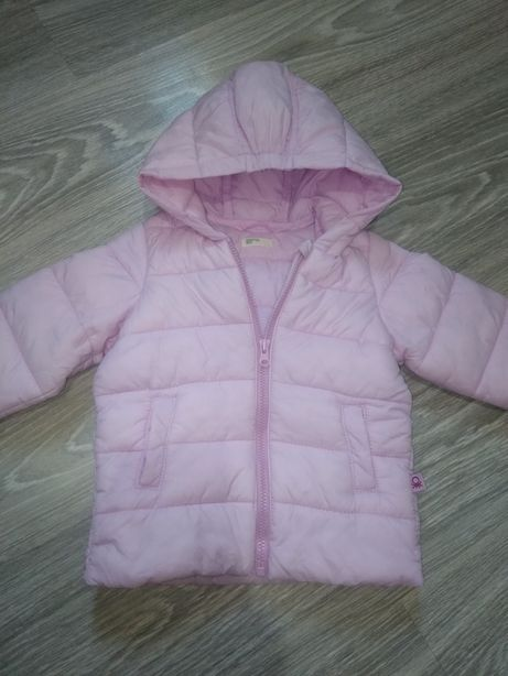 Куртка на девочку розовая демисезонная осенняя, дутик, парка, пуховик