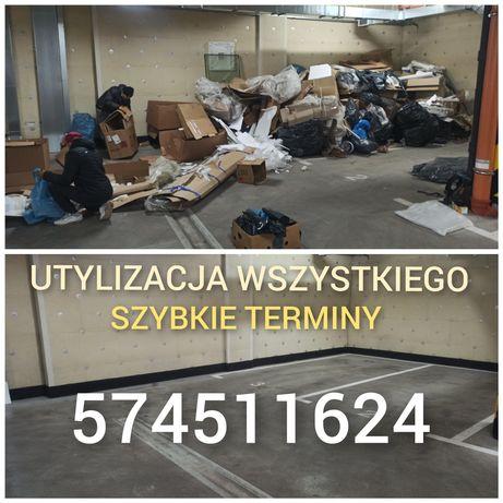 Utylizacja  Mebli Gruzu Transport  Wyburzenia Działki ROD Wrocław