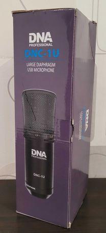 Nowy mikrofon pojemnościowy DNA DNC-1U wejście USB + ew. dodatki