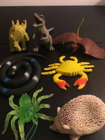 zabawki zwierzęta gumowy