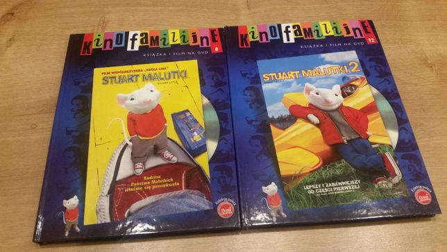 Stuart malutki cz.1 i cz.2.Wymienię na książkę dla dziewczynki 11 lat.