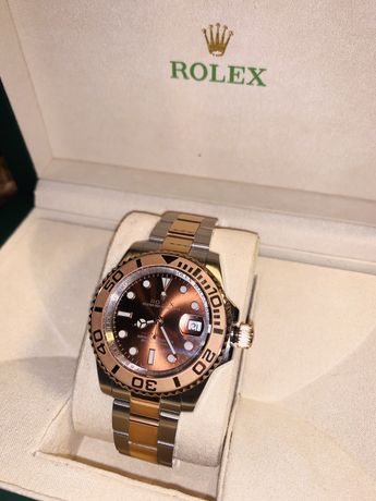 Rolex Yacht-Master 40 JF SS & RG Chocolate Dial Swiss 3135