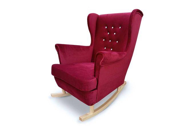 Fotel uszak na płozach bujany PROMOCJA