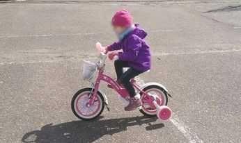 """Rowerek dziecięcy dla dziewczynki kitty bike koła12"""""""