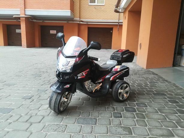 Детский 3-хколесный электромотоцикл Ocie Viper