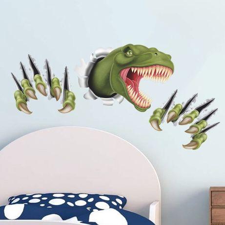 Наклейка на стену. Динозавр