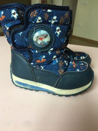 Зимові чобітки 23 р