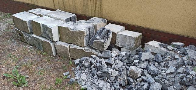 Oddam za darmo cegły pustaki i gruz