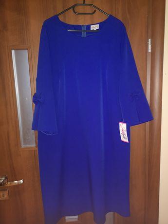Suknia modrakowa Juliastyle NOWA z metką rozmiar 48