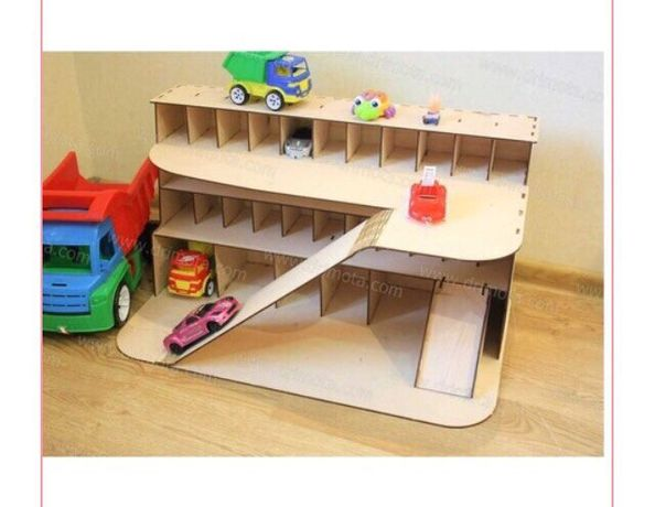 Гараж для детей для машинок парковка