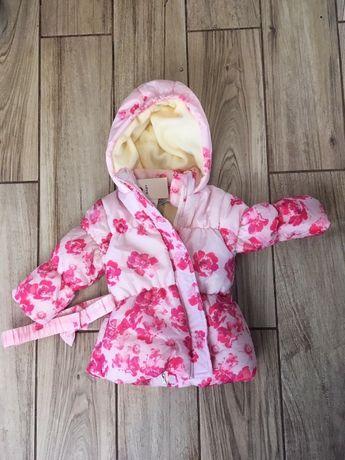 Nowa kurtka dziecięca rozm. 68, 5 10 15 różowa piękna dla dziewczynki