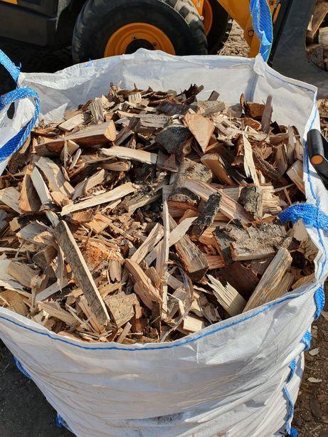 Drewno opalowe sosna dąb buk jesion grab - pociete zrzynki + transport
