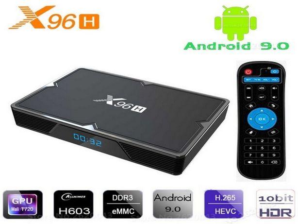 X96H 2gb 16gb Allwinner H603 Андроид Смарт тв приставка с настройками
