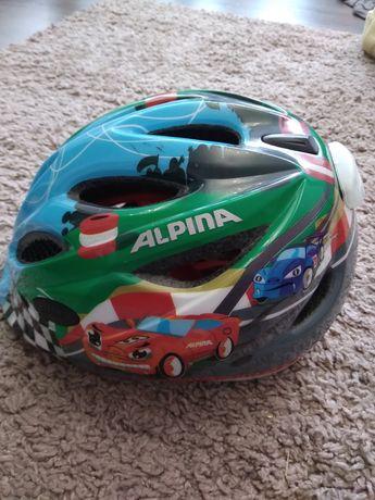 Шлем детский  велосипедный Alpina