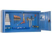 Armário Metálico de parede p/ Ferramentas com portas painel perfurado