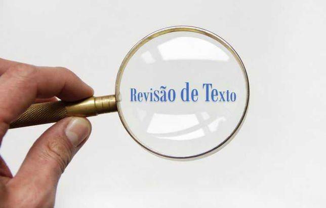 Revisão de textos em português
